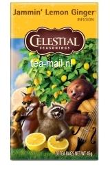 jammin\' lemon ginger tea