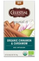 organic cinnamon & cardamom