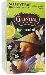 sleepytime decaf green tea lemon jasmine