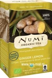 ginger lemon decaf green
