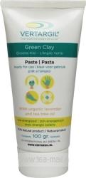 vertargil groene klei pasta tube, klein