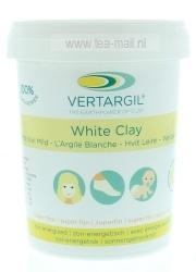 vertargil witte klei mild, superfijn, uitwendig