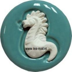 aromasteen zeepaardje met onderlegger