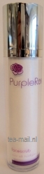 purple rose face scrub