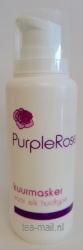 purple rose kuurmasker