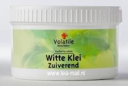 witte klei poeder