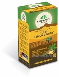 tulsi lemon ginger thee bio