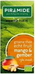 groene thee mango met gember