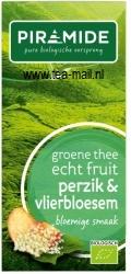 groene thee perzik en vlierbloesem