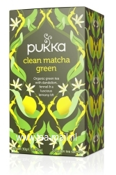 clean matcha green tea