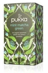 mint matcha green tea