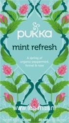 mint refresh tea