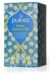 three chamomile