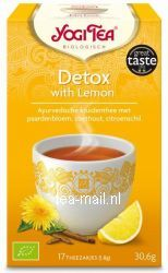 detox with lemon